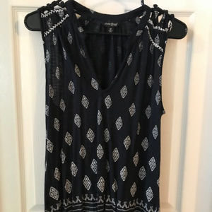 Lucky Brand tank with strappy shoulder - small
